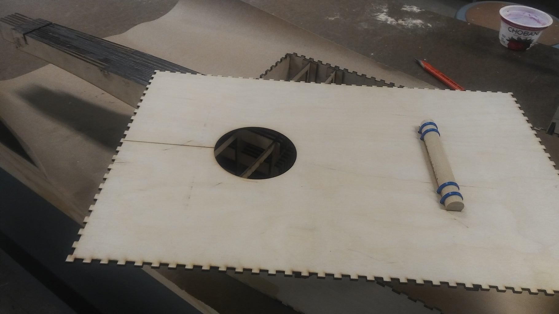 Bracing-Front Panel and Bridge
