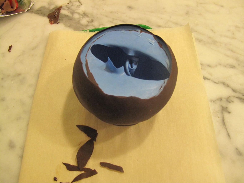 Finish the Chocolate Bowl.