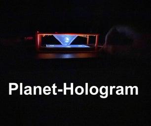PLANET-HOLOGRAM
