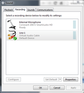 Windows Sound System Configuration