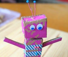 制作纸板机器人