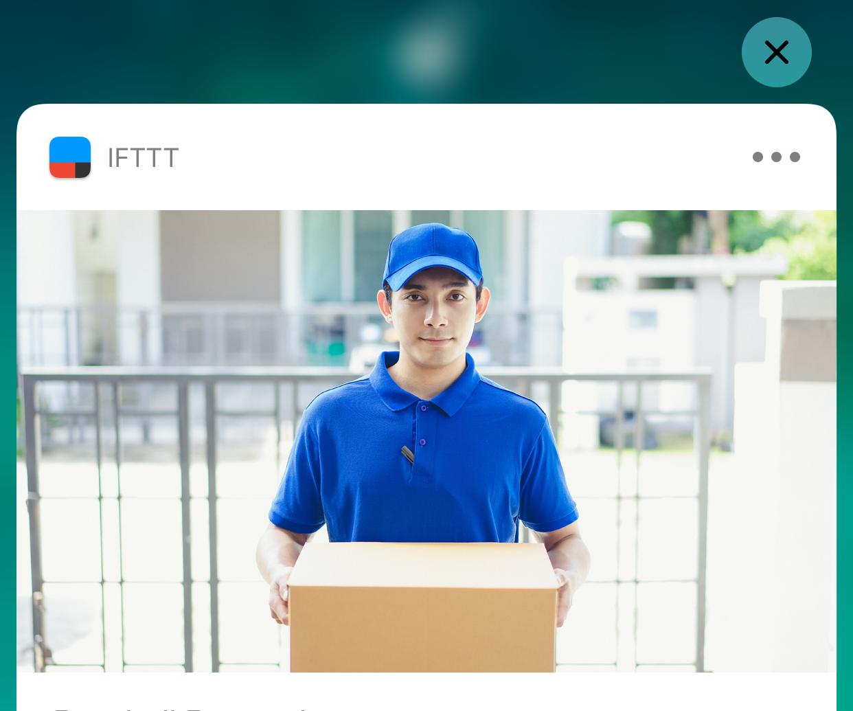 WiFi Doorbell - IFTTT