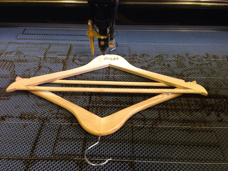 Engraving the Hanger