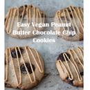 Easy Vegan Peanut Butter Chocolate Chip Cookies