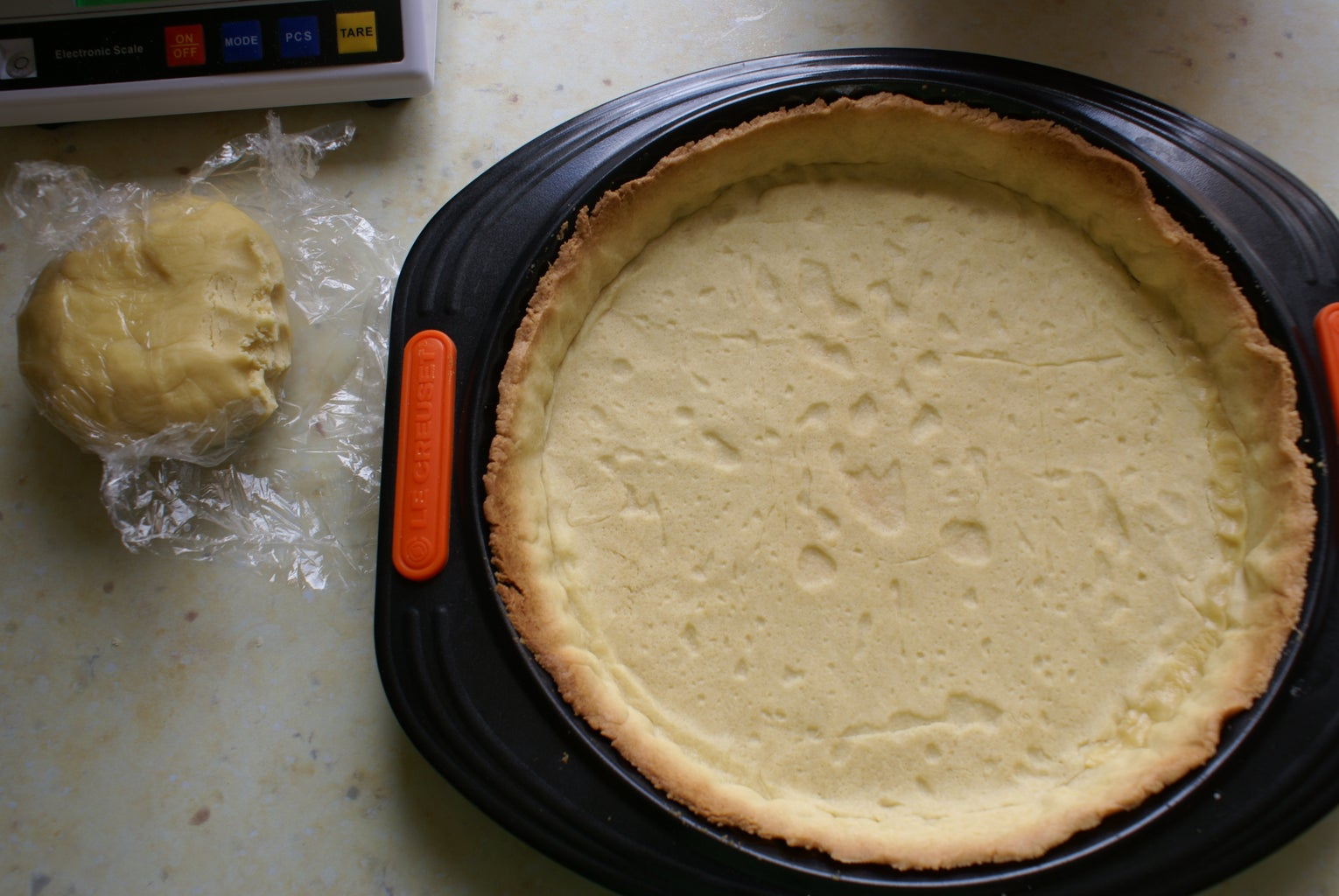 Pour the Appareil in the Crust