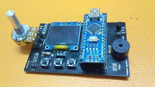Versano: a Multifunctional Handy Device (arduino Nano)