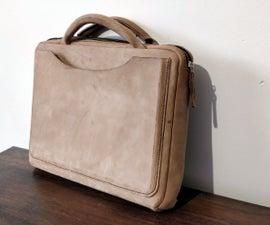 Leather Laptop Portfolio