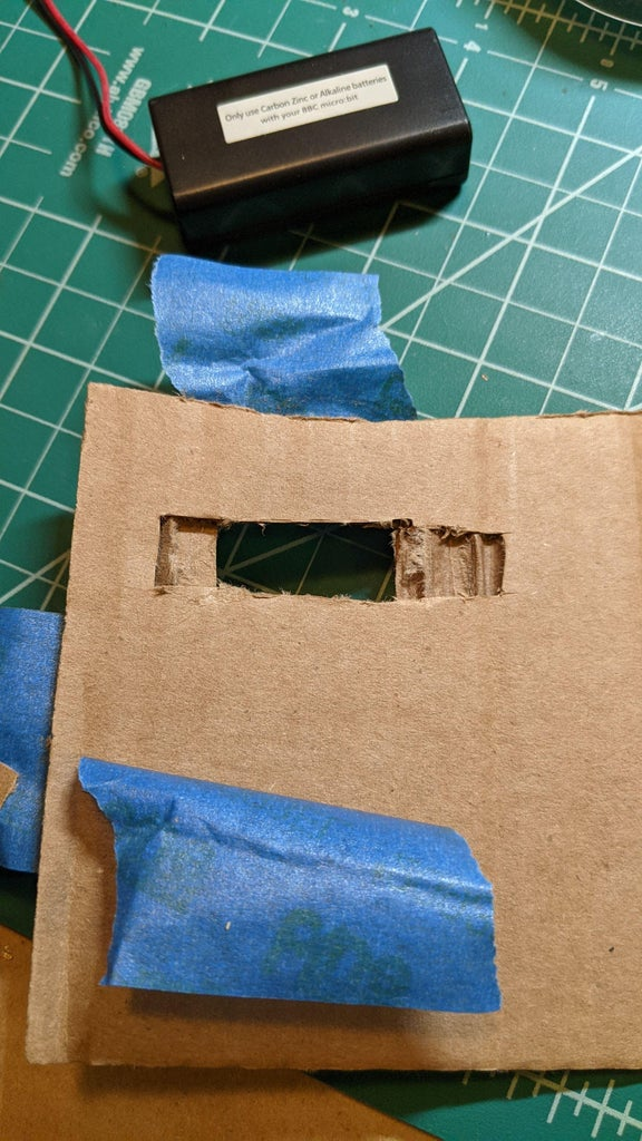 Cardboard Holder