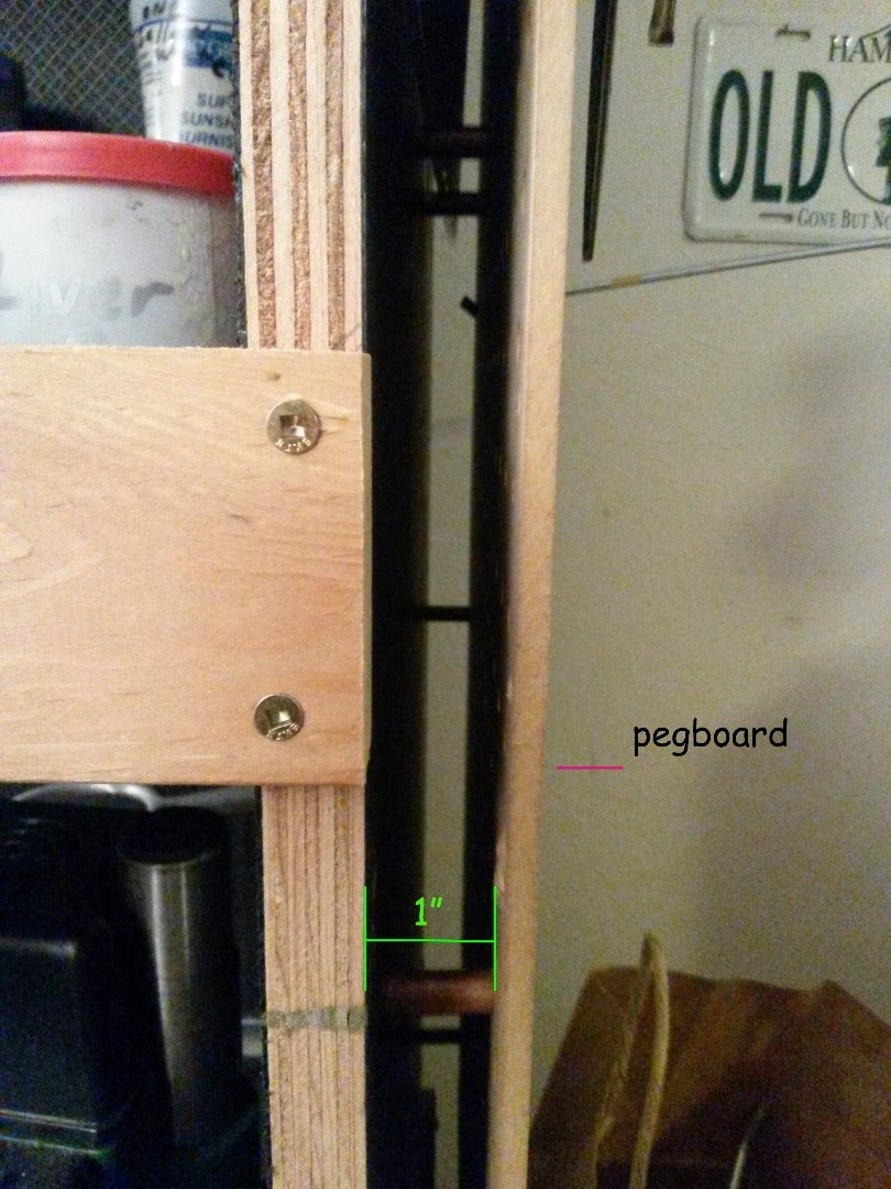 D: Tool Track and  Peg Board Spacers 1