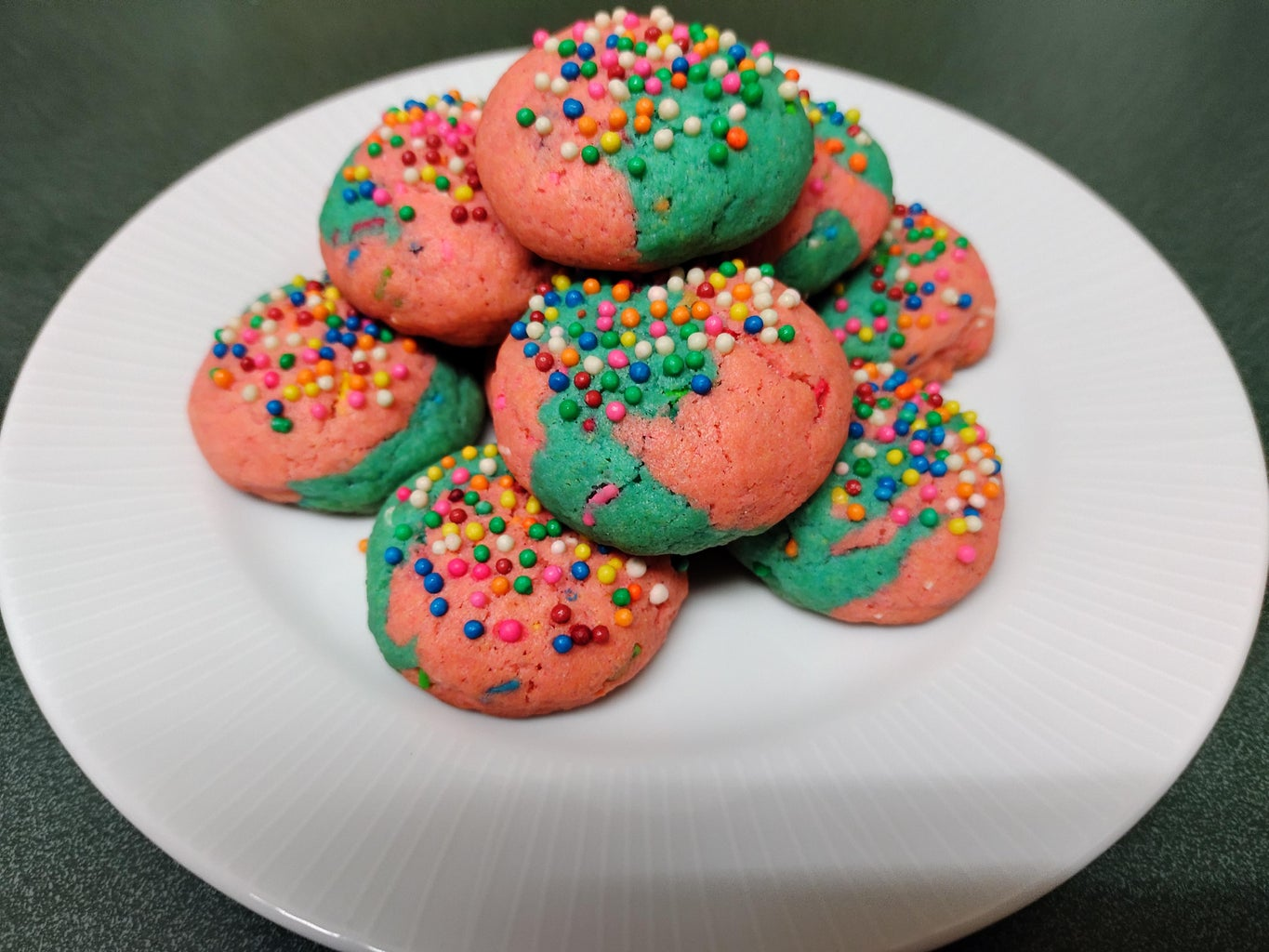 Butter Colored Cookies Recipe