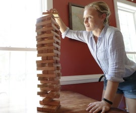 Building a Big Jenga Game