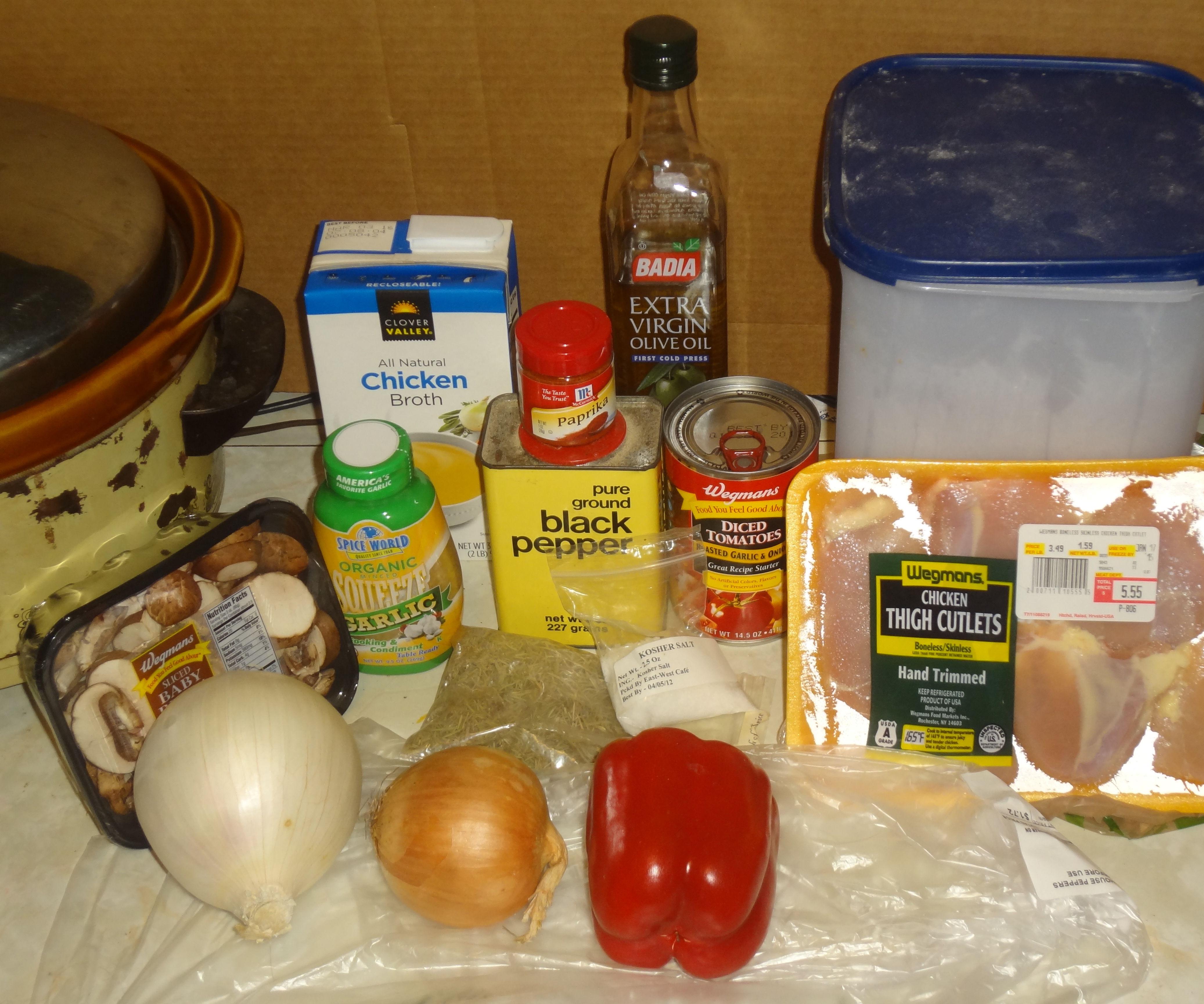 Slow Cooker Paprikash