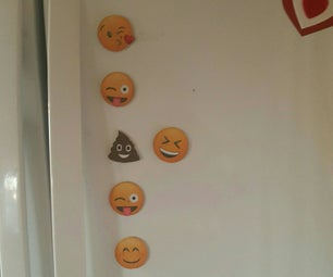 Emoji Fridge Magnets