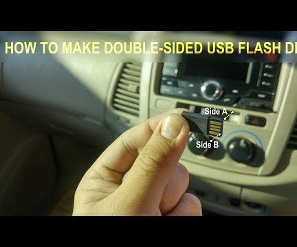 Double-Sided USB Flash Drive