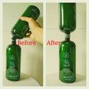 EZ shampoo bottle transfer