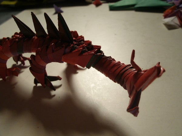 Modular Origami Dragon by Namer