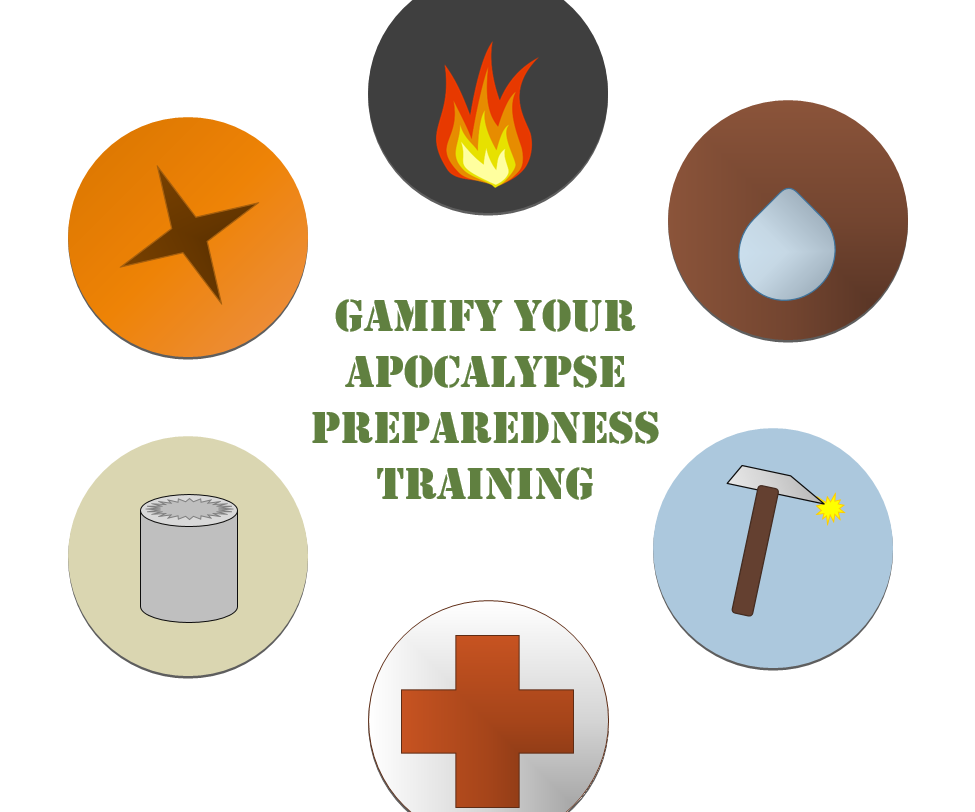 Gamify Your Apocalypse Preparedness Training