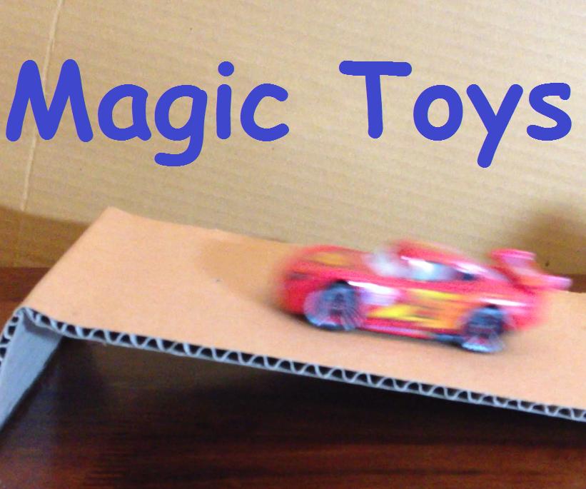 Anti-Gravity Magic Toys