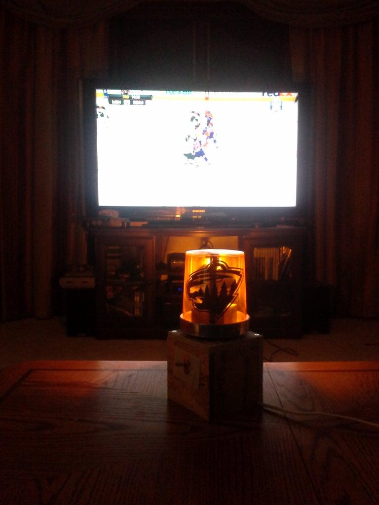 Hockey Themed Goal Light
