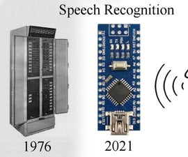 Speech Recognition With an Arduino Nano
