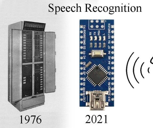 Speech Recognition With an Arduino Nano