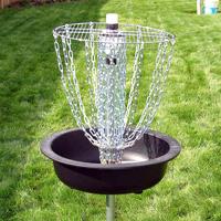 Make a Disc Golf Basket