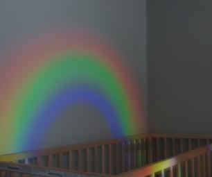 如何制作彩虹夜灯