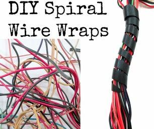 DIY Spiral Wire Wraps