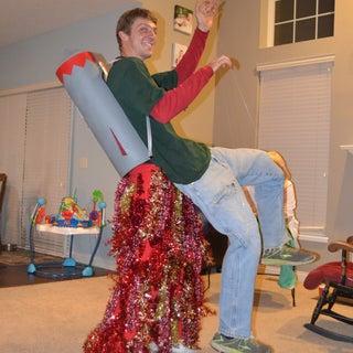 Rocket Backpack Costume