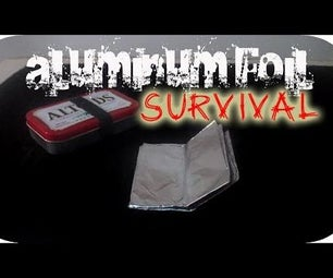 to Make an Aluminum Foil Cup (Survival)