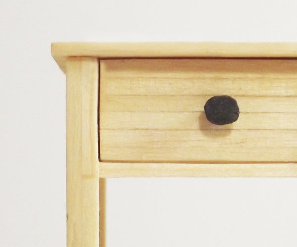 Miniature Matchstick Side Table