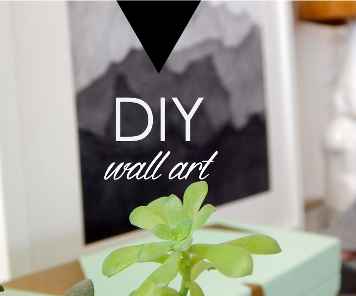 Super Easy Wall Art
