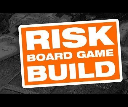 RISK Board Game Build From Reclaimed Pallets