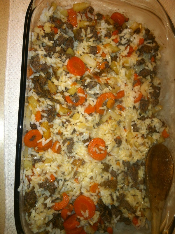 Venison Rice Dish