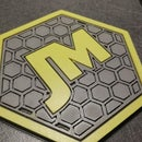 3d Print Mold for Silicone Patch Label
