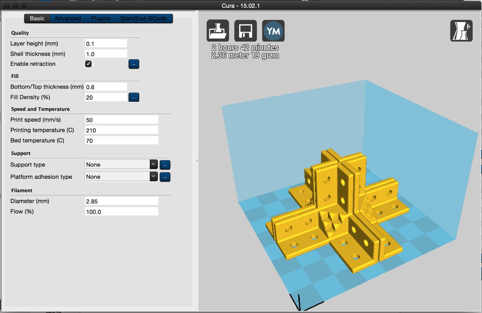 3D Printed Edges