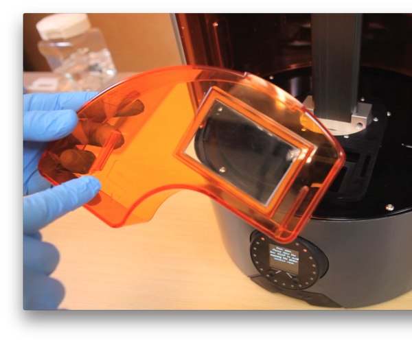 How to Install the Resin Tray