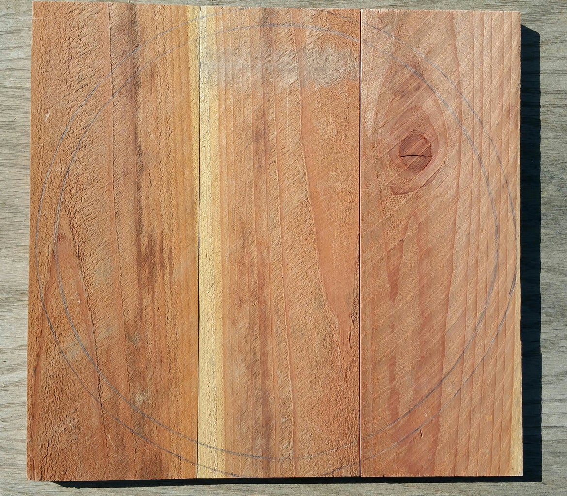 Cutting Boards to Make a Lid for the Nukazuke Bucket