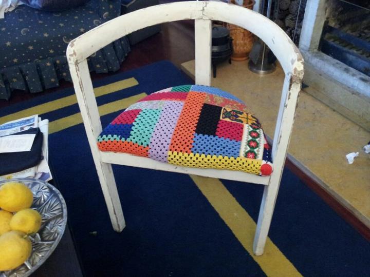 facelift for a threelegged chair