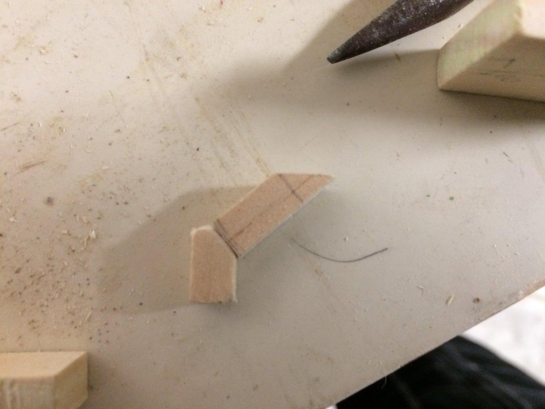 Step One: Cutting the Wood