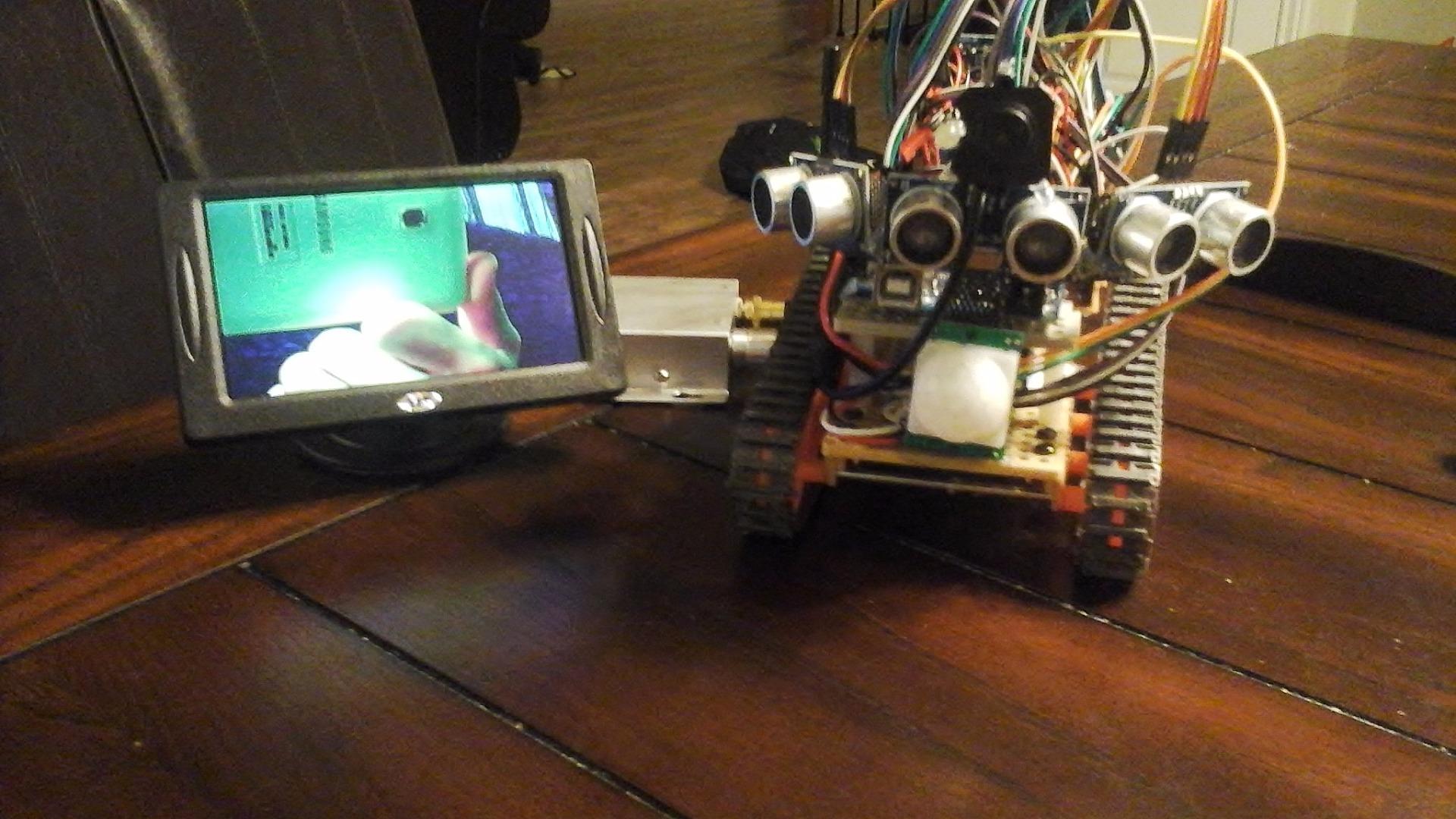 MARS-- Autonomous Multi-functional Rover