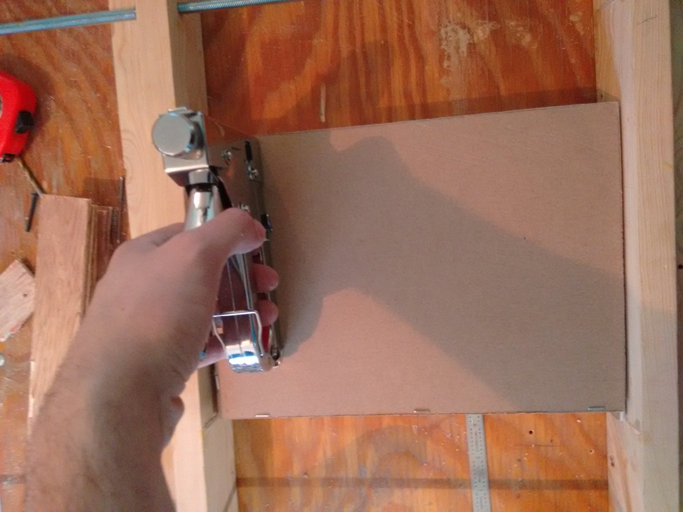 Cantilever Drawer Construction