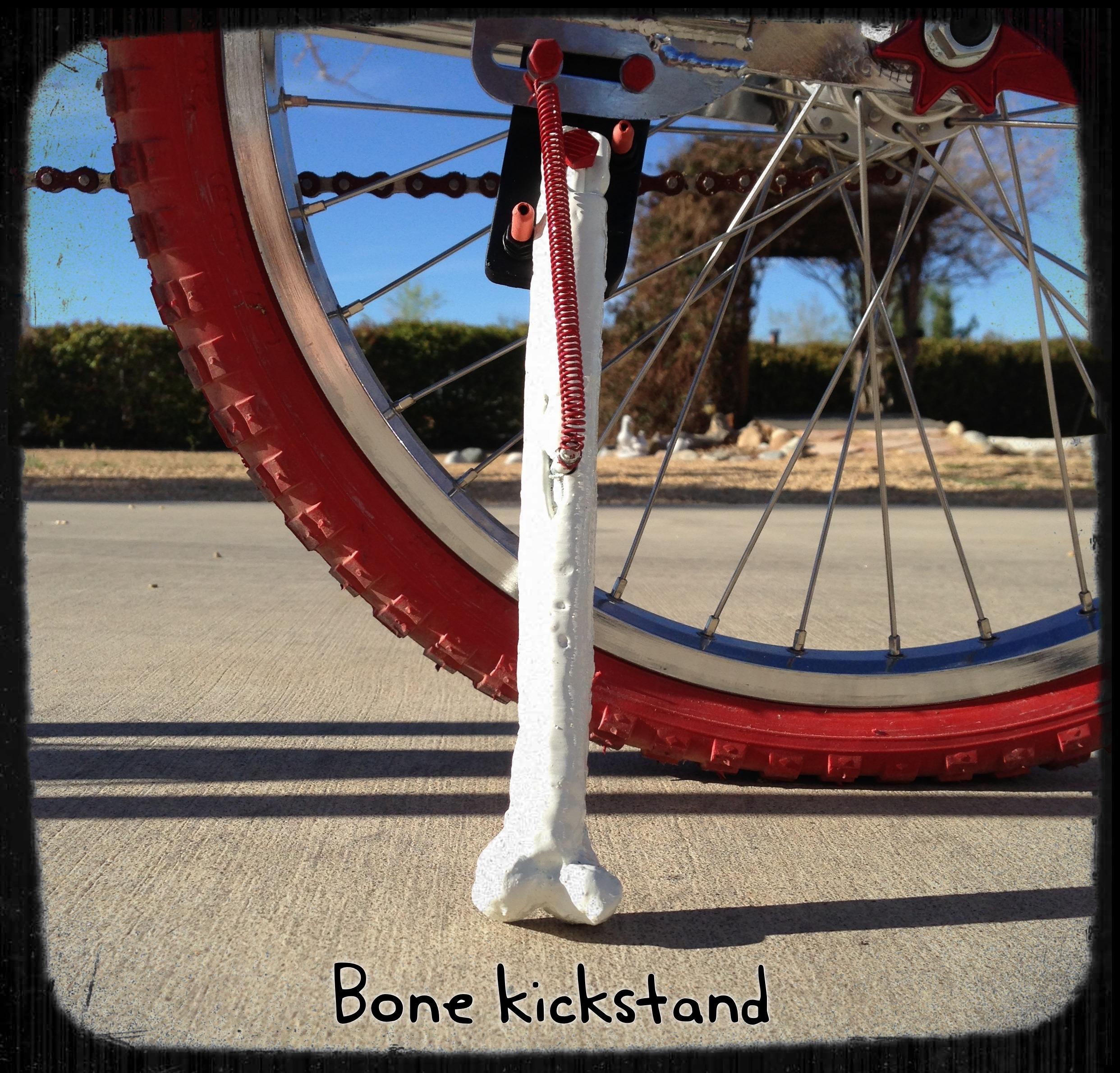 Build A Custom Bone Kickstand With Cast Aluminum