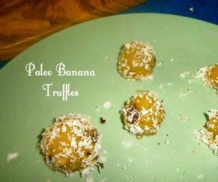 Paleo Banana Icecream Truffle