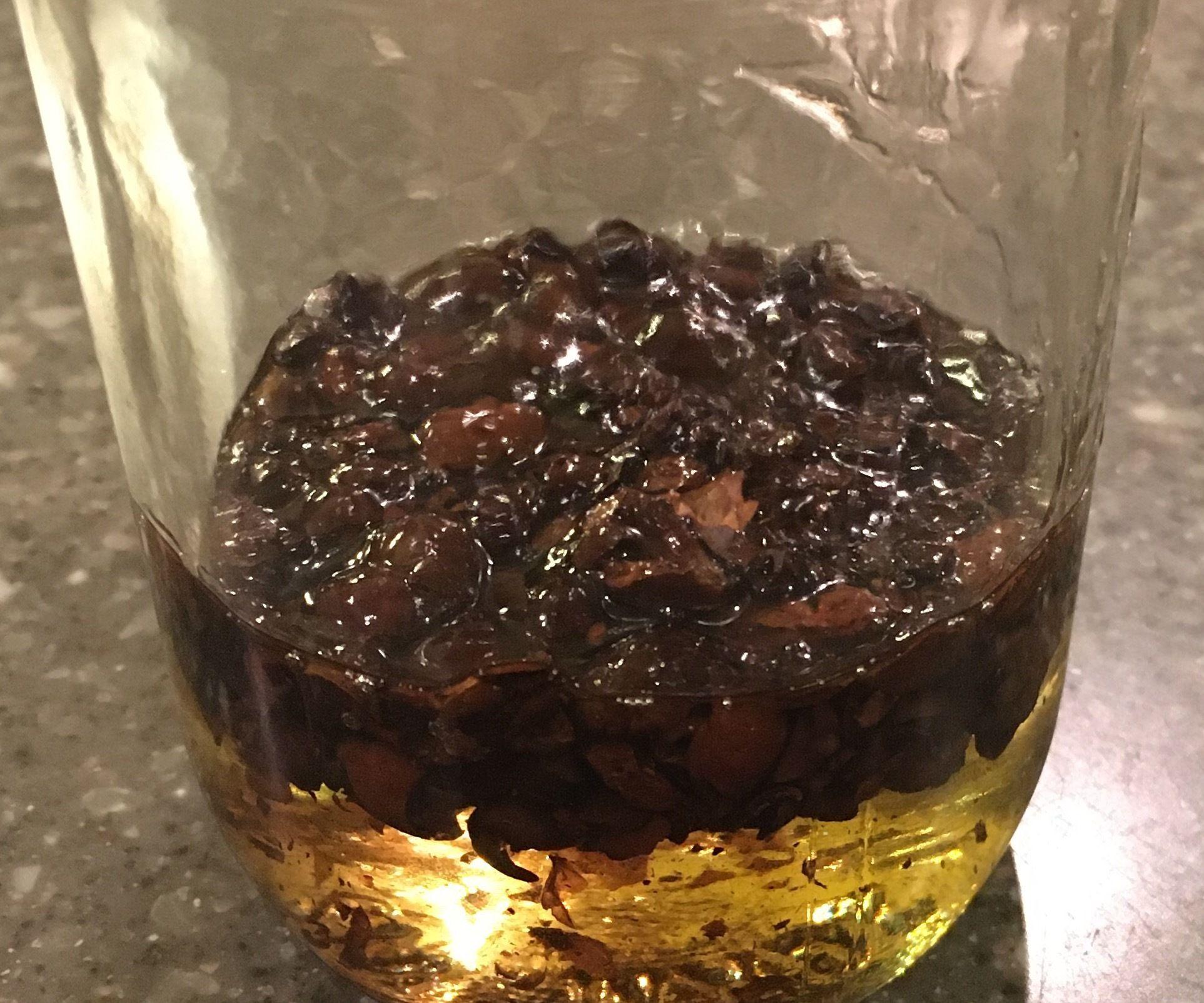 Coffee-Infused Massage Oil