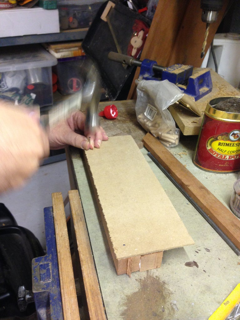 Makeing the Pen Blank Jig