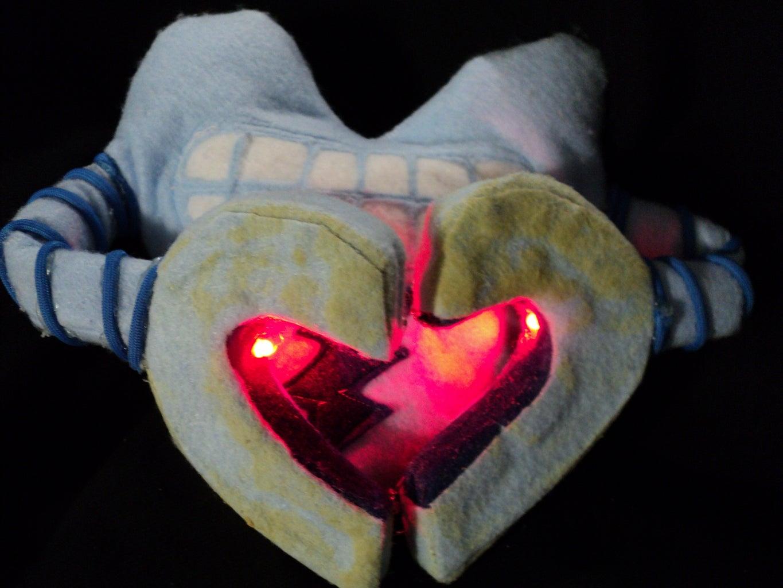 Adafruit Adabot Robot Heart Plushie