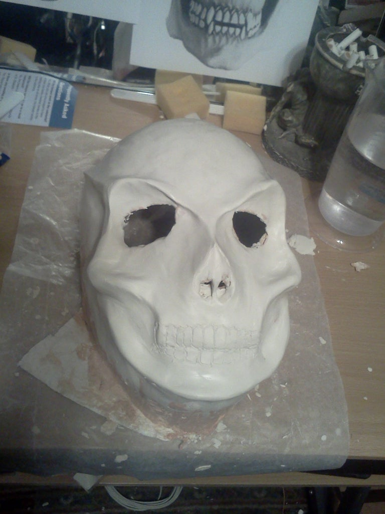 Sculpey Clay Molding the Effects