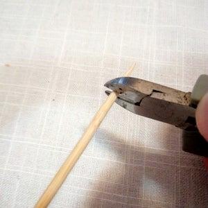 Prepearing the Roasting Sticks