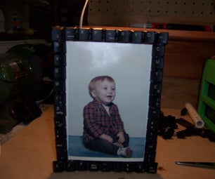 Keyboard Picture Frame